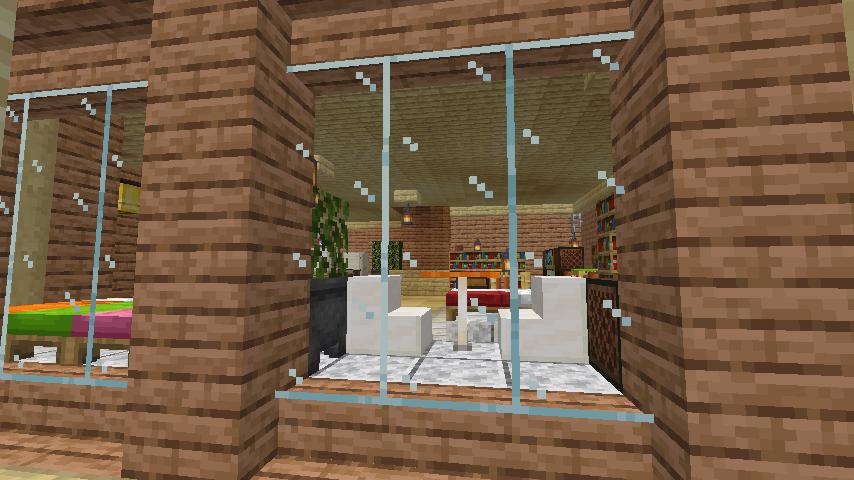 Minecrafterししゃもがマインクラフトで空中都市プコサヴィルのビルを作る14