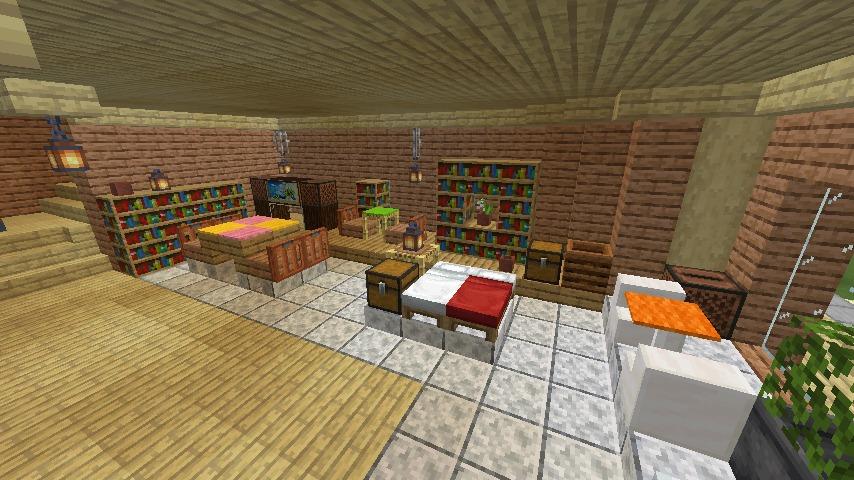 Minecrafterししゃもがマインクラフトで空中都市プコサヴィルのビルを作る15