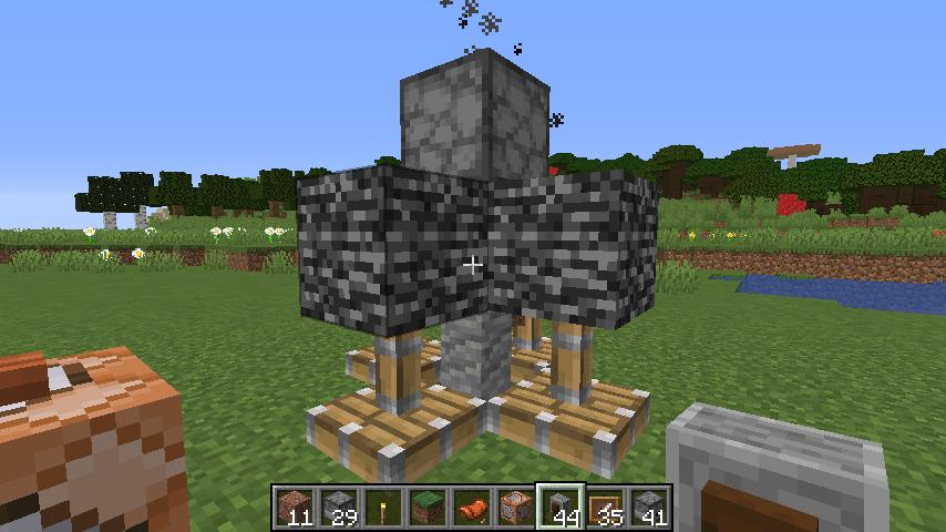 Minecrafterししゃもがマインクラフトで作ったデータパック「Automatic Boring Machine」の紹介をする8