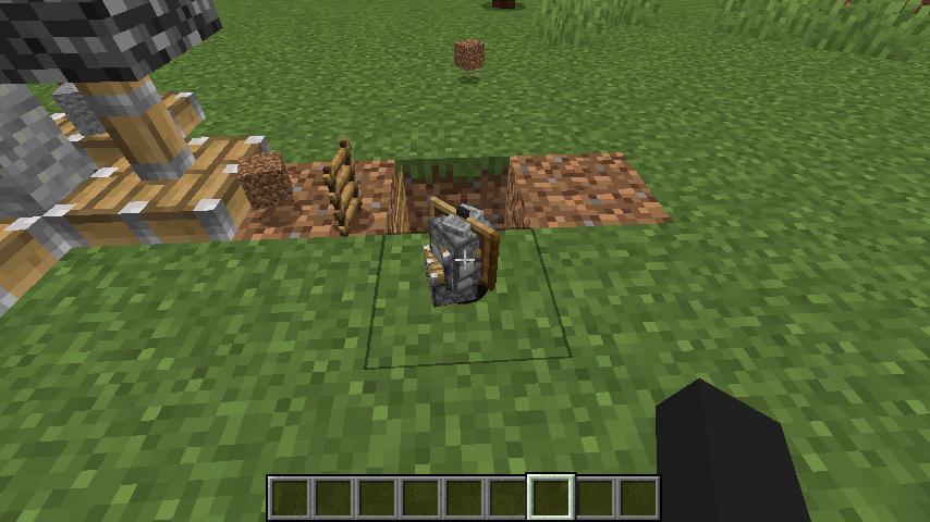 Minecrafterししゃもがマインクラフトで作ったデータパック「Automatic Boring Machine」の紹介をする10