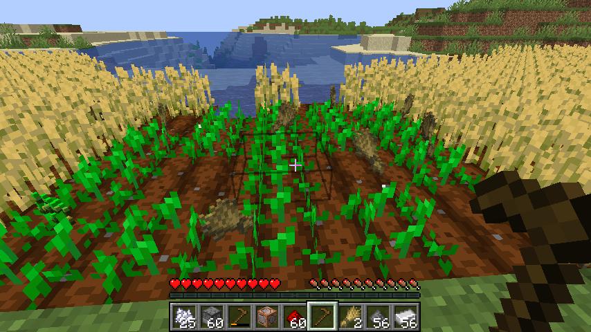 Minecrafterししゃもがマインクラフトで作ったデータパック「Convenient Planting」の紹介をする9