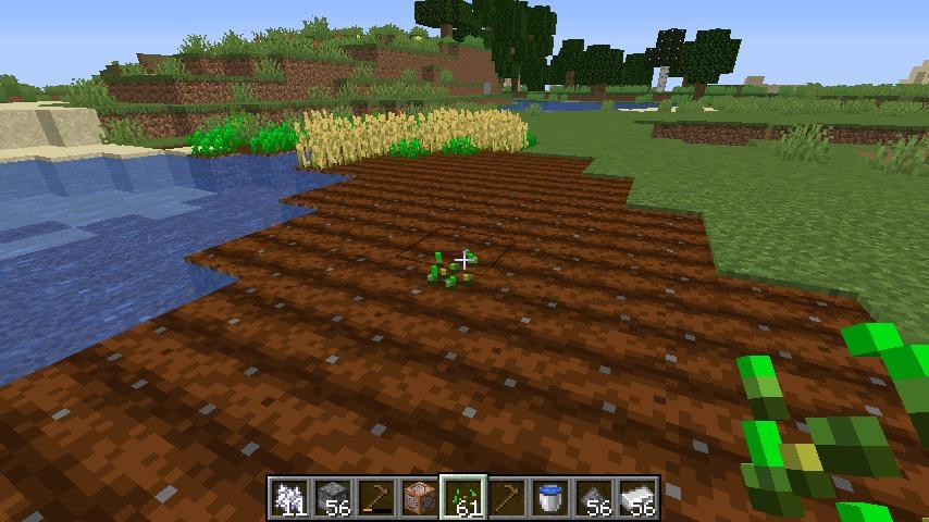 Minecrafterししゃもがマインクラフトで作ったデータパック「Convenient Planting」の紹介をする14