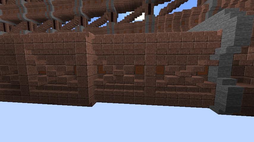 Minecrafterししゃもがマインクラフトで空中都市プコサヴィルをガンガン作っていく4