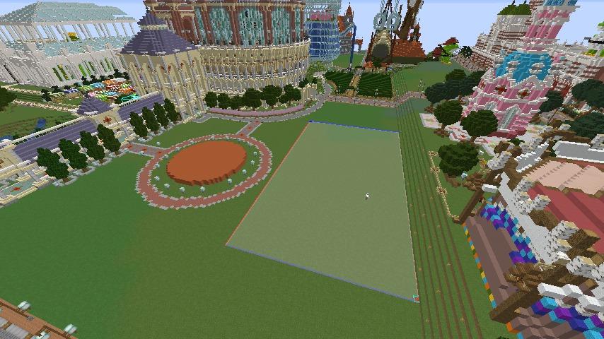 Minecrafterししゃもがマインクラフトでぷっこ村にイギリス風の建築物を建てるよ2
