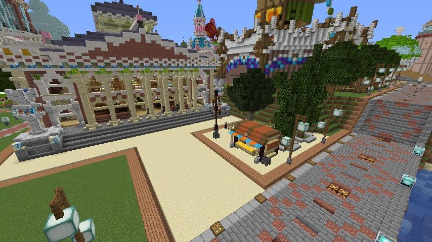 Minecrafterししゃもがマインクラフトでぷっこ村にイギリス風の建築物を建てるよ8