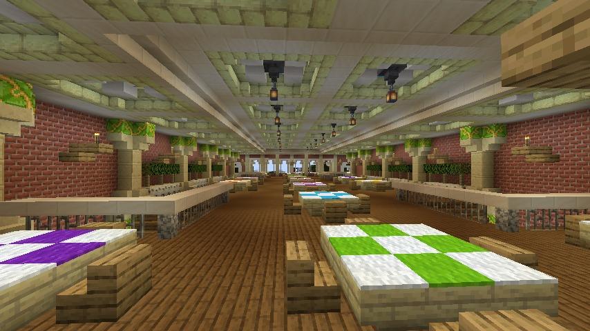 Minecrafterししゃもがマインクラフトでぷっこ村にイギリス風の建築物を建てるよ11