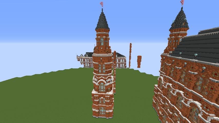 Minecrafterししゃもがマインクラフトで無性に建てたくなった塔1