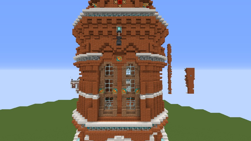 Minecrafterししゃもがマインクラフトで無性に建てたくなった塔2