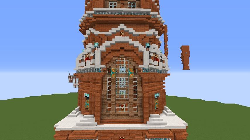 Minecrafterししゃもがマインクラフトで無性に建てたくなった塔3