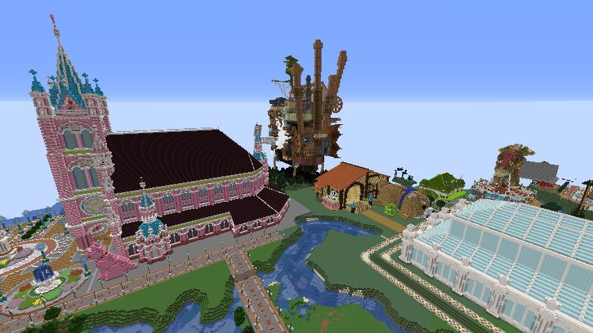 Minecrafterししゃもがマインクラフトで無性に建てたくなった塔5