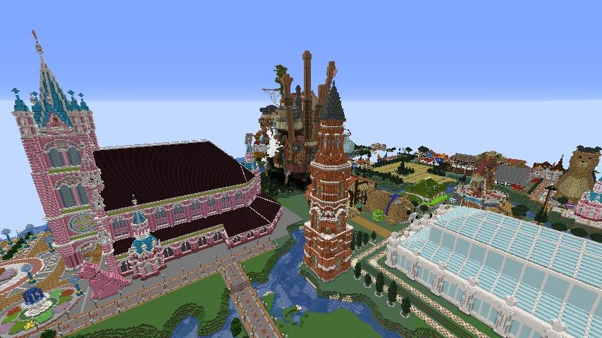 Minecrafterししゃもがマインクラフトで無性に建てたくなった塔6