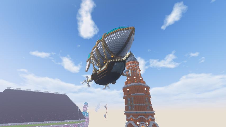 Minecrafterししゃもがマインクラフトで無性に建てたくなった塔10