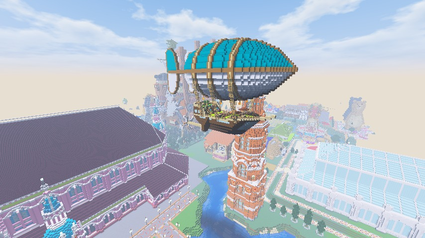 Minecrafterししゃもがマインクラフトで無性に建てたくなった塔9