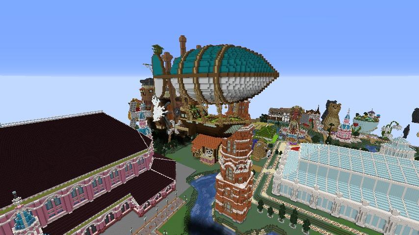 Minecrafterししゃもがマインクラフトで無性に建てたくなった塔8
