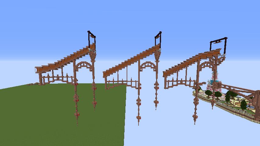 Minecrafterししゃもがマインクラフトでプコサヴィルの線路を作るよ2