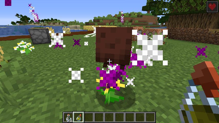 Minecrafterししゃもがマインクラフトで作ったデータパック「Bottled Bee」の紹介をする14