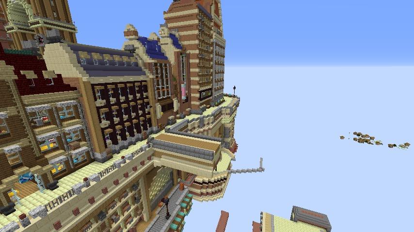 Minecrafterししゃもがマインクラフトでぷっこ村のプコサヴィル東側に着工するよ2