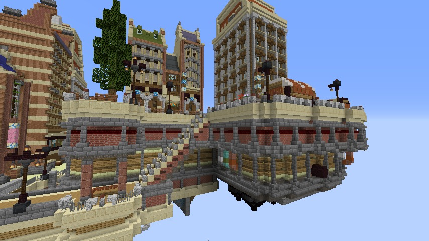 Minecrafterししゃもがマインクラフトでぷっこ村のプコサヴィル東側に着工するよ4