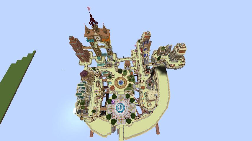 Minecrafterししゃもがマインクラフトでぷっこ村のプコサヴィル東側に着工するよ5