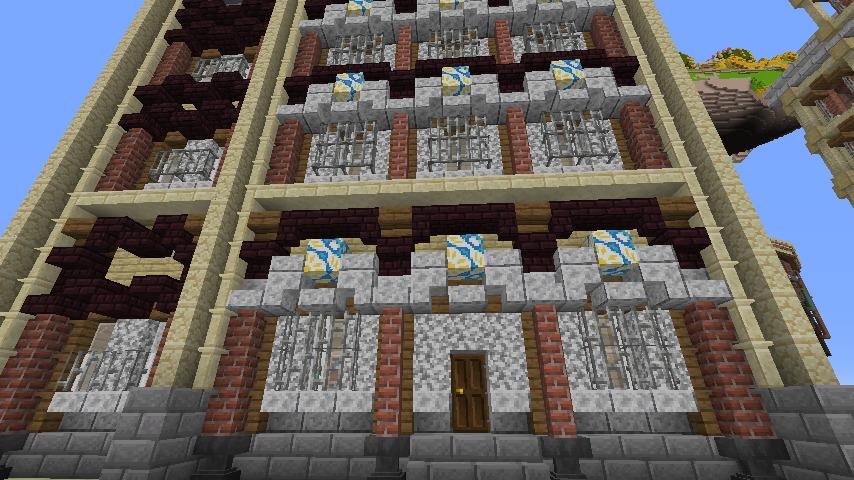 Minecrafterししゃもがマインクラフトでぷっこ村のプコサヴィル東側の続きを作る5