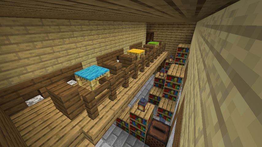 Minecrafterししゃもがマインクラフトでぷっこ村のプコサヴィル東側の続きを作る6