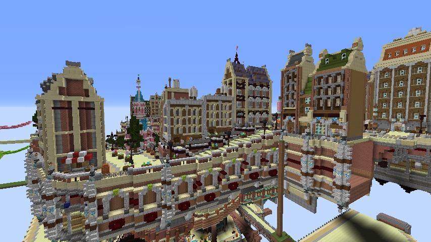 Minecrafterししゃもがマインクラフトでぷっこ村のプコサヴィル東側の続きを作る10