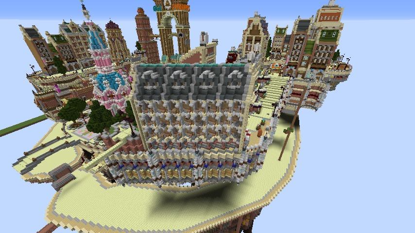 Minecrafterししゃもがマインクラフトでぷっこ村のプコサヴィル東側の続きを作る8