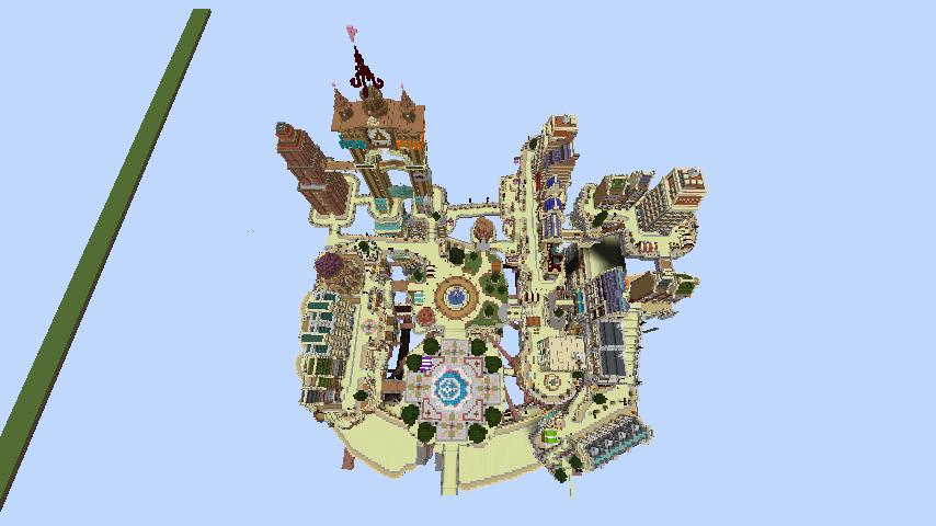 Minecrafterししゃもがマインクラフトでぷっこ村のプコサヴィル東側の続きを作る12