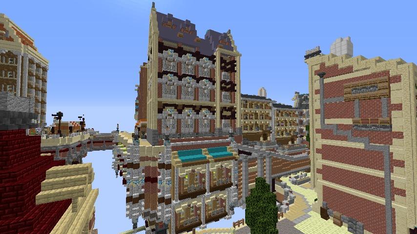 Minecrafterししゃもがマインクラフトでぷっこ村のプコサヴィル東側の続きを作る11