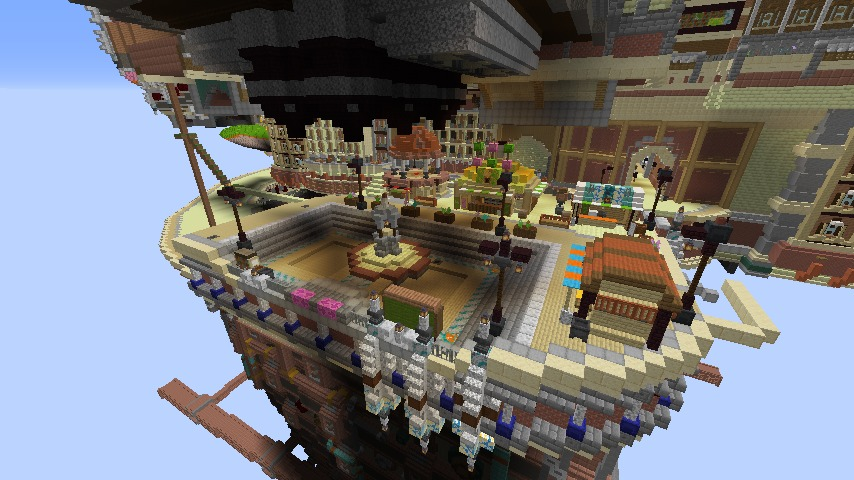Minecrafterししゃもがマインクラフトでプコサヴィルの線路を大量に作るよ3