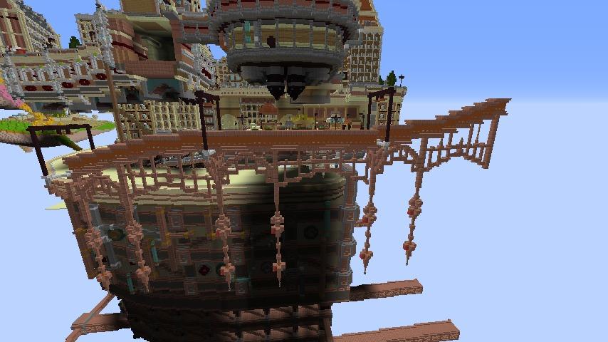 Minecrafterししゃもがマインクラフトでプコサヴィルの線路を大量に作るよ4