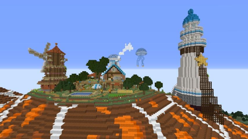 Minecrafterししゃもがマインクラフトでぷっこ村に生息するイエガメの生態を解説する12