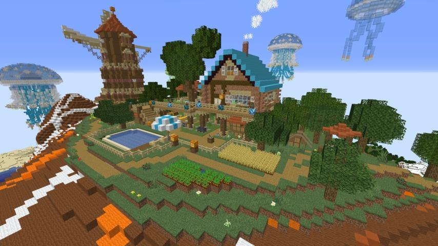 Minecrafterししゃもがマイクラ建築コンテストに応募してみた作品を紹介する3