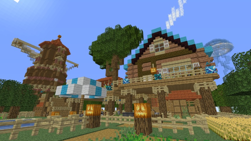 Minecrafterししゃもがマインクラフトでぷっこ村に生息するイエガメの生態を解説する13