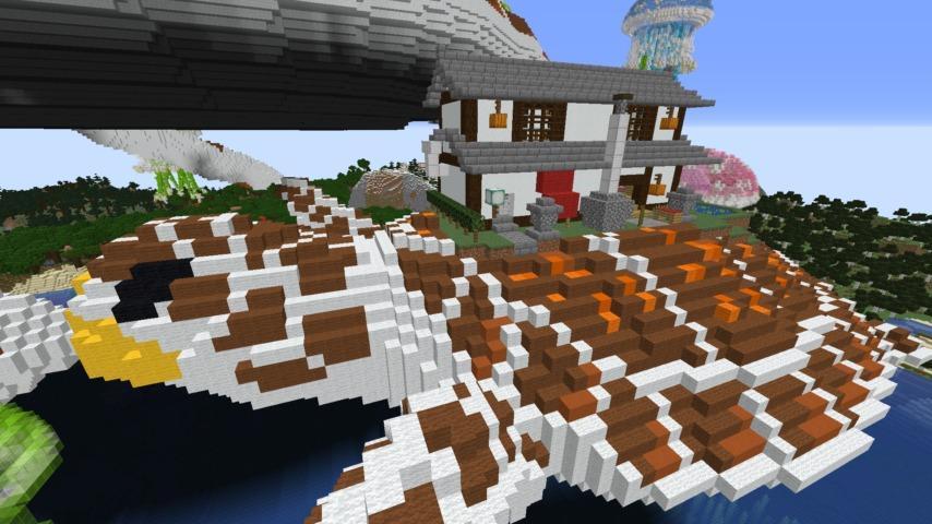 Minecrafterししゃもがマイクラ建築コンテストに応募してみた作品を紹介する4
