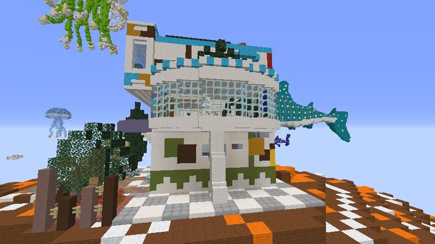 Minecrafterししゃもがマインクラフトでぷっこ村に生息するイエガメの生態を解説する10
