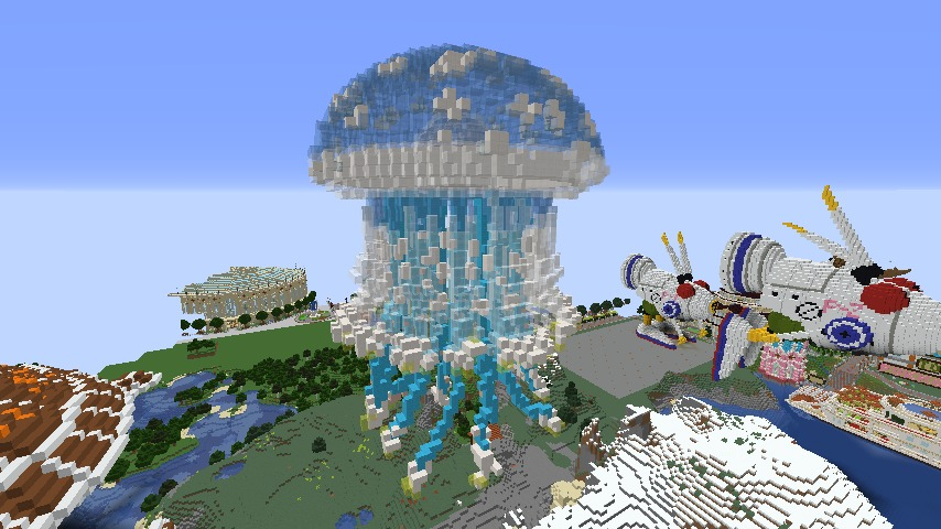 Minecrafterししゃもがマインクラフトでぷっこ村に生息するイエガメの生態を解説する4