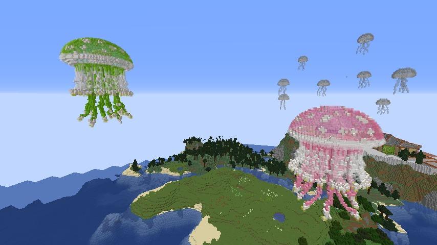 Minecrafterししゃもがマインクラフトでぷっこ村に生息するイエガメの生態を解説する5
