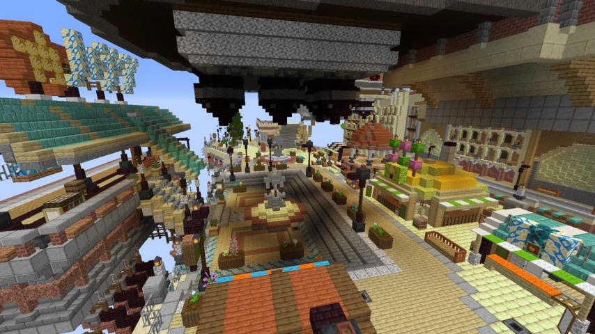 Minecrafterししゃもがマインクラフトでぷっこ村のプコサヴィルの駅を作る8