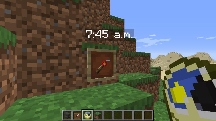 Minecrafterししゃもがマインクラフトで作ったデータパック「O'clock」の紹介をする9