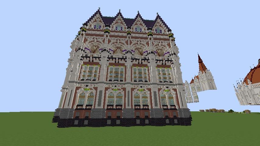 Minecrafterししゃもがマインクラフトでぷっこ村に魔法学校を建築してみる5