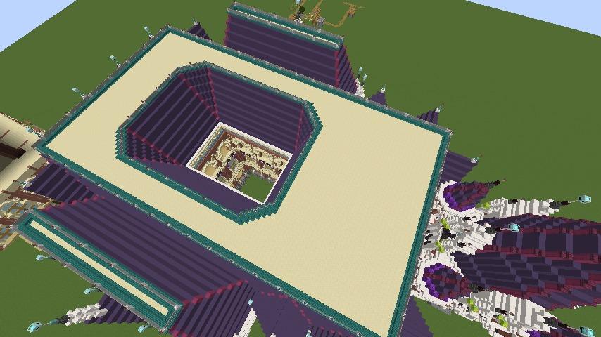 Minecrafterししゃもがマインクラフトでぷっこ村に魔法学校を建築してみる8