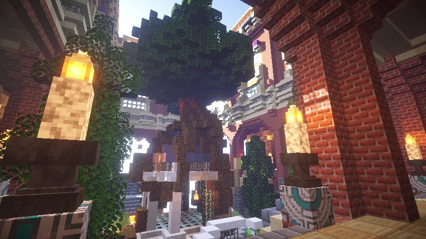 Minecrafterししゃもがマインクラフトでぷっこ村に魔法学校を建築してみる14