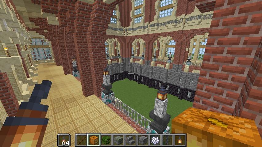 Minecrafterししゃもがマインクラフトでぷっこ村に魔法学校を建築してみる9