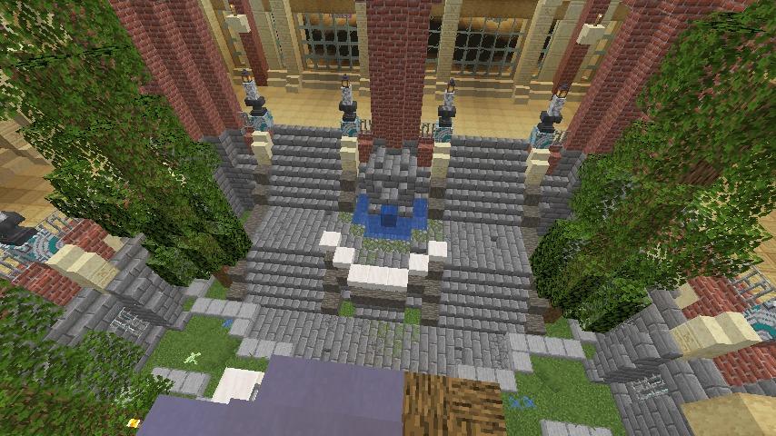 Minecrafterししゃもがマインクラフトでぷっこ村に魔法学校を建築してみる10