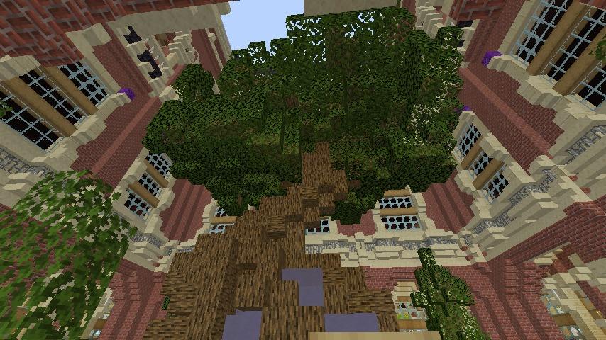 Minecrafterししゃもがマインクラフトでぷっこ村に魔法学校を建築してみる12