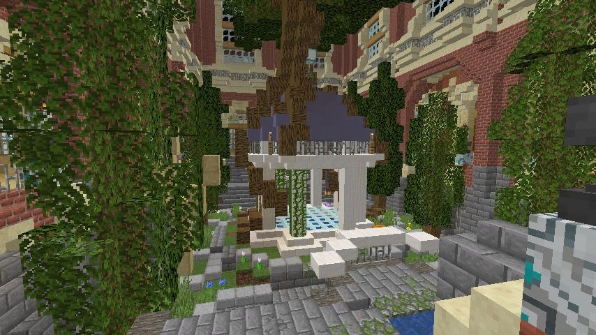 Minecrafterししゃもがマインクラフトでぷっこ村に魔法学校を建築してみる11