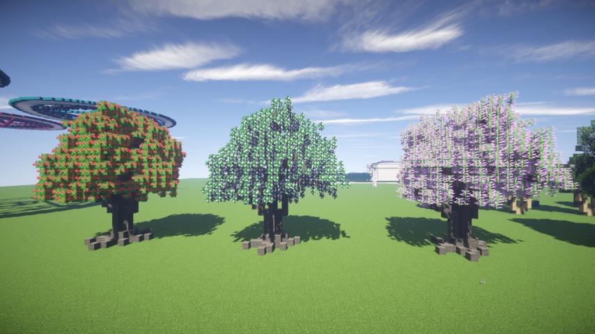 Minecrafterししゃもがマインクラフトでぷっこ村の樹木を生まれ変わらせる5