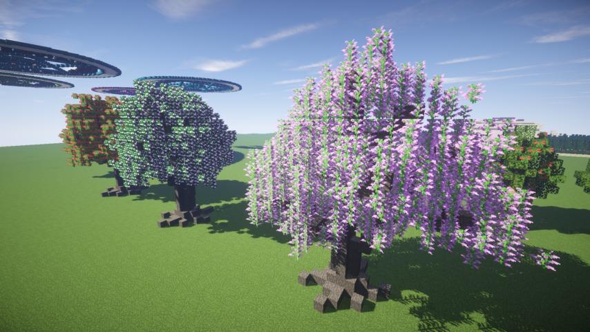 Minecrafterししゃもがマインクラフトでぷっこ村の樹木を生まれ変わらせる7
