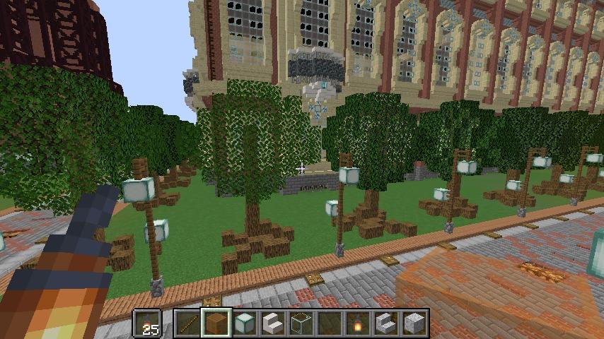 ぷっこ村の気合がはいっていない樹木たち